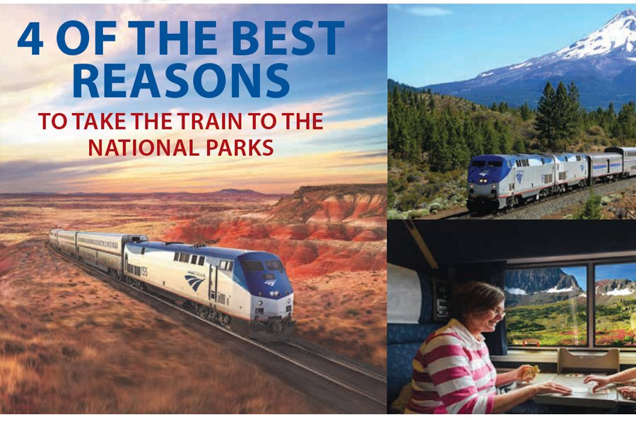 TO TAKE THE TRAIN TO THE NATIONAL PARKS