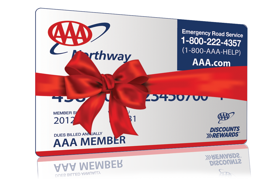 Gift AAA to someone special.  AAA gift membership provides 12 months of roadside assistance and benefits valid year round.