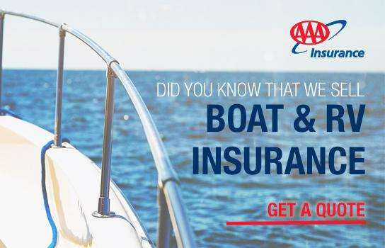 Boat and RV Insurance with AAA