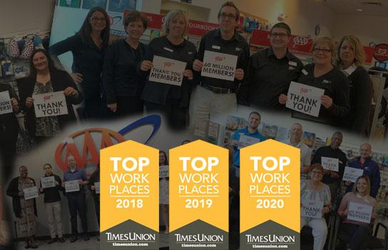 AAA Northway Top Places to Work 2019, 2019, 2020