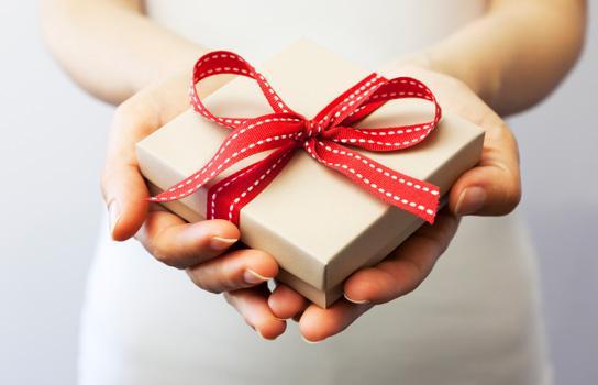 Holiday gift giving and savings