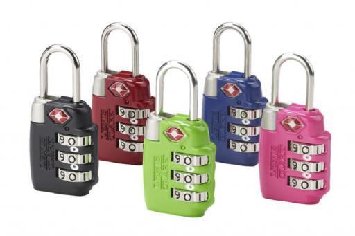 3 Dial TSA accepted lock