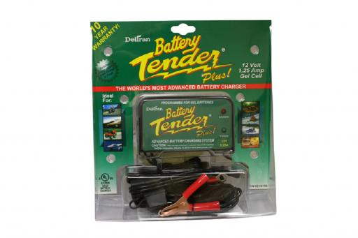 Battery Tender® Plus 12V, 1.25A Battery Charger