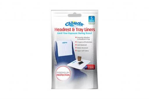 Cloudz® Headrest & Tray liners