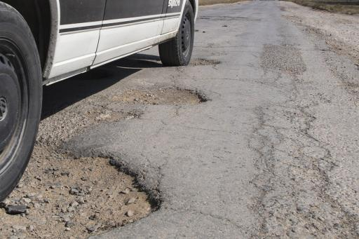 Roadways are beginning to thaw and that means potholes.