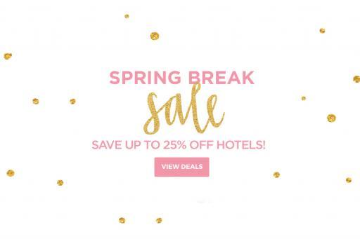 Spring Break Hotel Sale