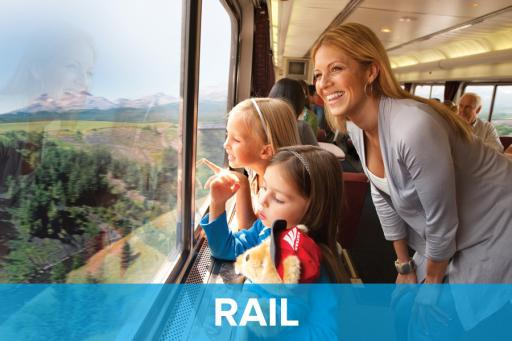 Travel by rail