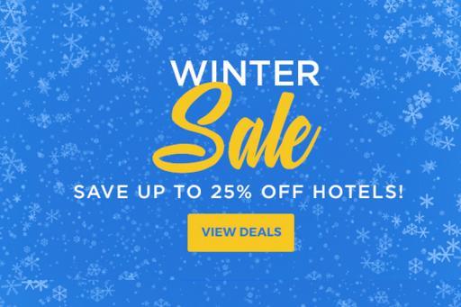 Winter Hotel Sale