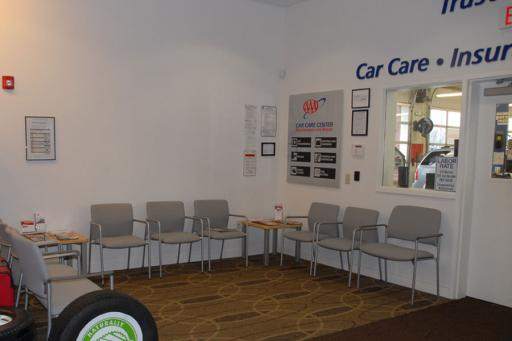 Clean waiting area