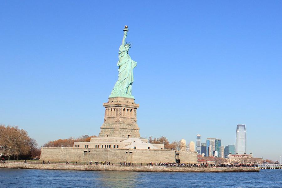 Statue of Liberty and Ellis Island motorcoach bus trip